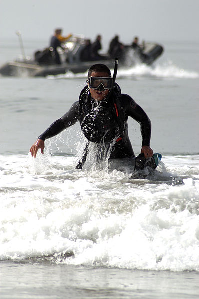 File:US Navy 050413-N-2636M-042 Aviation Warfare System Operator 2nd Class James Newbarth completes a swim relay during the National Helicopter Association Annual Aircrew competition.jpg