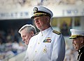 US Navy 110527-N-ZB612-164 Chief of Naval Operations (CNO) Adm. Gary Roughead participates in the Naval Academy Class of 2011 graduation and commis.jpg