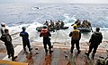 US Navy 111006-N-MW330-360 Sailors assigned to the forward-deployed amphibious dock landing ship USS Germantown (LSD 42).jpg