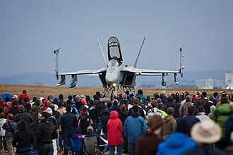 Australian International Airshow - US Navy F/A-18 Super Hornet of VFA-122 in 2009