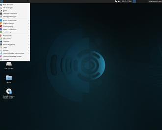 Ubuntu Studio - Image: Ubuntu Studio 15.04