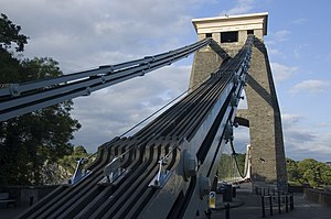 Eyebar - Detail view of the Clifton Bridge