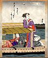 Ukiyoe calendar Sept.2010 kiyonaga -- sumidagawa tsukimi bune.jpg