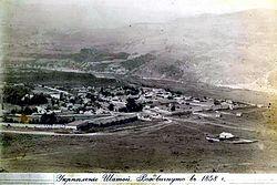 Ukreplenie Shatoy. Vozdvignuto v 1858 godu na okkupirovannykh zemlyakh taypa Hakkoy 2.jpg