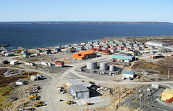 Skyline of Umiujaq
