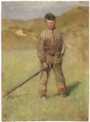 Ung pojke, motiv från Holland