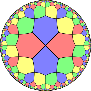 Alternated octagonal tiling - Image: Uniform dual tiling 433 t 0