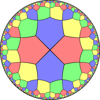 Alternated octagonal tiling - Image: Uniform dual tiling 433 t 0