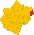 Unione del Rubicone-mappa comuni.png