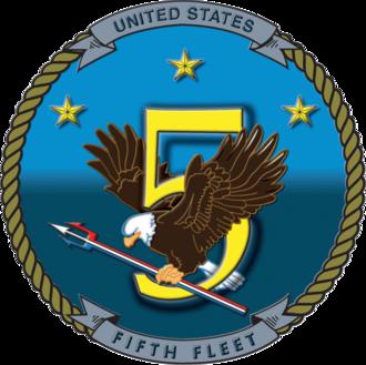 United States Fifth Fleet - The U.S. Fifth Fleet's emblem