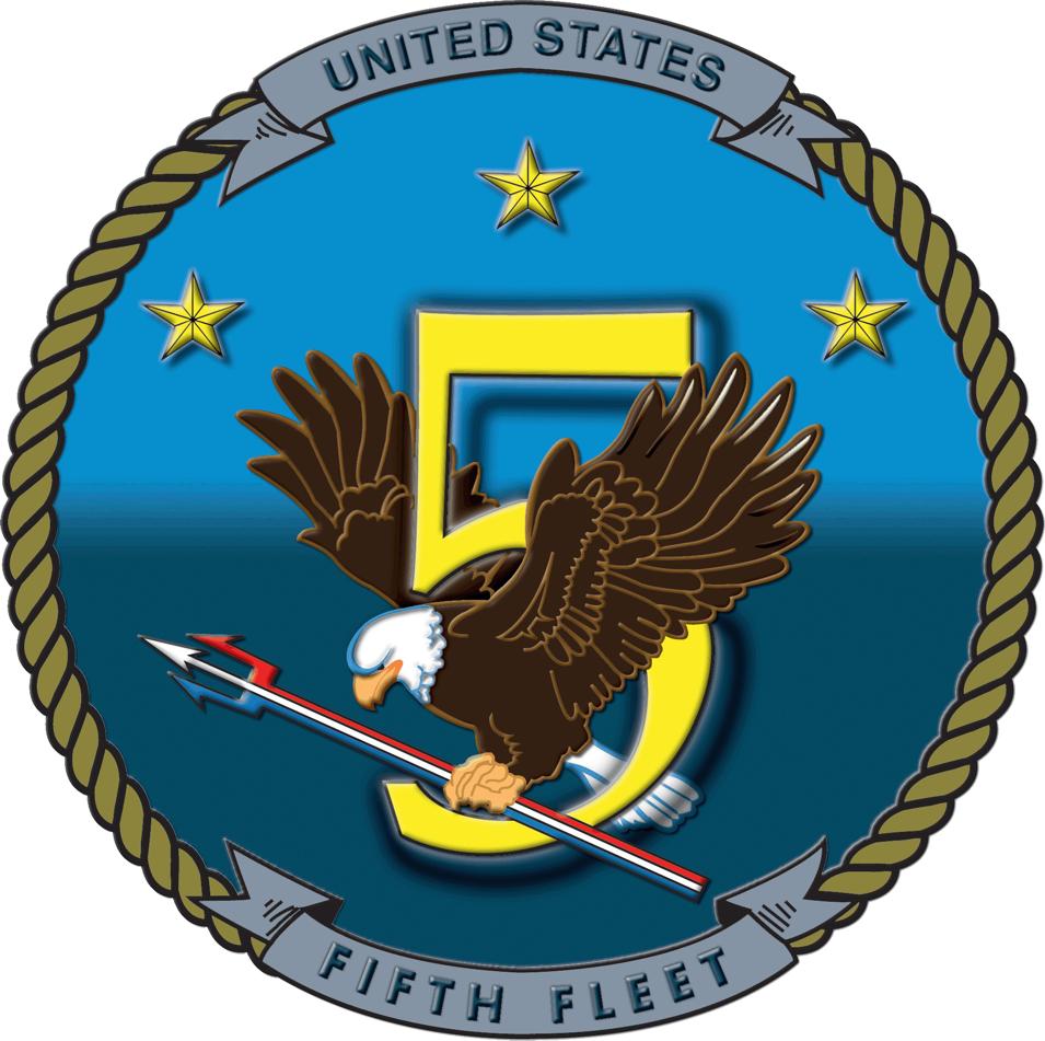 United States Fifth Fleet insignia 2006