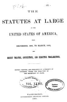 United States Statutes at Large Volume 27.djvu