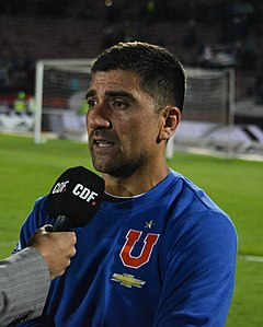 Pizarro na jaře roku 2018 ve dresu Universidad de Chile