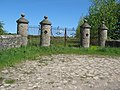 Unused gates rear of Redworth Hall - geograph.org.uk - 1327646.jpg