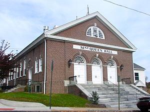 Upland, Pennsylvania - Image: Upland Boro Hall Delco PA