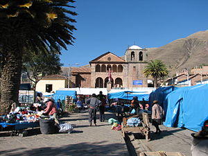 Urcos District - Plaza de Armas