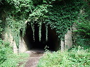 Usk railway tunnel