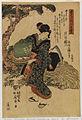 Utagawa Shunsho - Honen - - no tewaza - Walters 95680.jpg