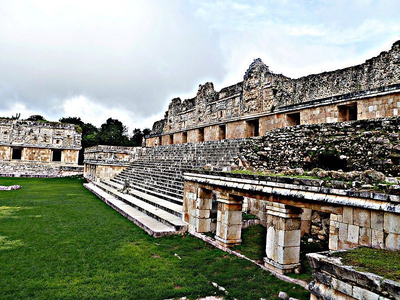 800px Uxmal%2C Nunnery Quadrangle %Category Photo