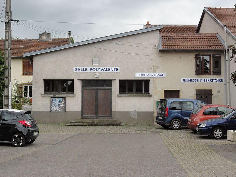 Vélaine-sous-Amance (M-et-M) salle polyvalente, foyer rural, jeunesse et territoire