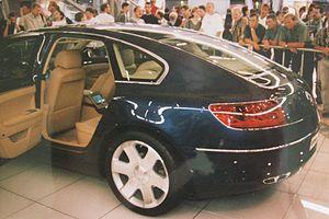 Volkswagen Concept D - Rear seats