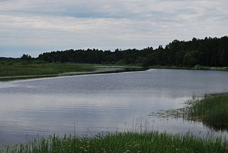 Väike Emajõgi river in Estonia