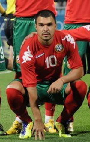 Valeri Bojinov - Bojinov with Bulgaria in 2011