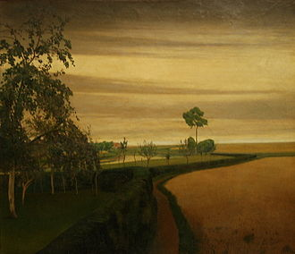Valerius de Saedeleer - The end of a gloomy day