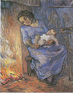 Van Gogh - Der Mann ist auf See (nach Demont-Breton)