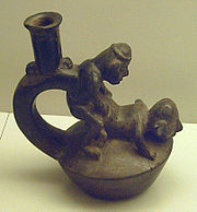 Moche pottery homosexual advance
