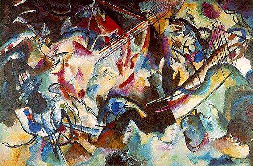 Vassily Kandinsky, 1913 - Composition 6