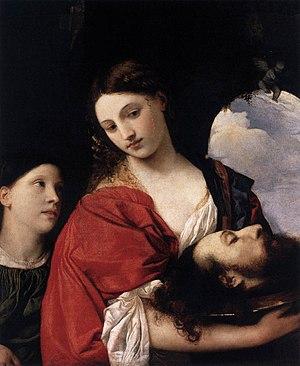 Salome - ''Salome'' by Titian, c 1515, (Galleria Doria Pamphilj, Rome)
