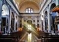 Venezia Chiesa di San Nicola di Tolentino Innen Langhaus West 1.jpg