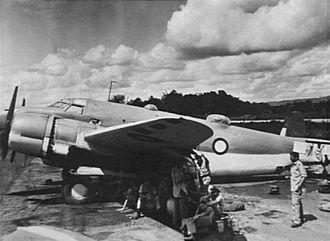 No. 37 Squadron RAAF - Lockheed Lodestar of No. 37 Squadron at Merauke, Dutch New Guinea, in December 1944