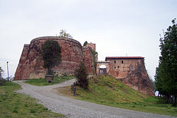 The fortress of Verrua.