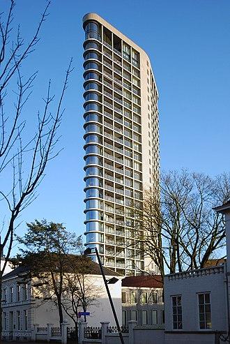 Vesteda Toren - Image: Vestedatoren, Vestdijk, Eindhoven