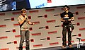 Vic Mignogna and Danny Choo at Anime Expo 20130704.jpg
