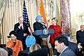 Vice-President Biden, Secretary Clinton Co-Host Social Lunch in Honor of Indian Prime Minister (4373962302).jpg
