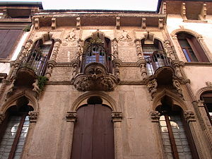Antonio Pigafetta - Casa Pigafetta, his palace in Vicenza.