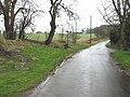 View NW along road near Singledge - geograph.org.uk - 353166.jpg