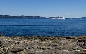 View from Ruckle Campground towards North Pender Island, Saltspring Island, Canada 05.jpg