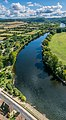View of Dordogne River from the castle of Beynac 03.jpg