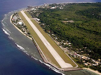 Yaren District - Nauru International Airport