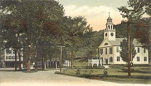 Winchester, New Hampshire - Image: View of the Common, Winchester, NH