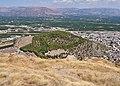 View of the Hill Aspida from Larissa Castle in Argos on September 5, 2020.jpg