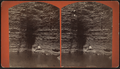 View of the man sitting by the pond, from Robert N. Dennis collection of stereoscopic views.png