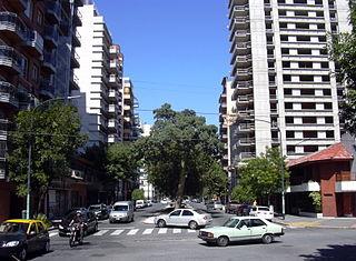 Villa Luro Barrio in Buenos Aires, Argentina