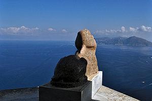 Villa San Michele - Image: Villa San Michele Sphinx