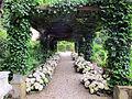 Villa san michele, giardino est, pergolato.JPG