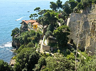 Posillipo - Posillipo coast from Via Posillipo